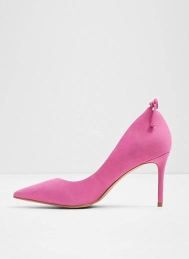 Aldo Nubuk Stiletto Ayakkabı Fuşya